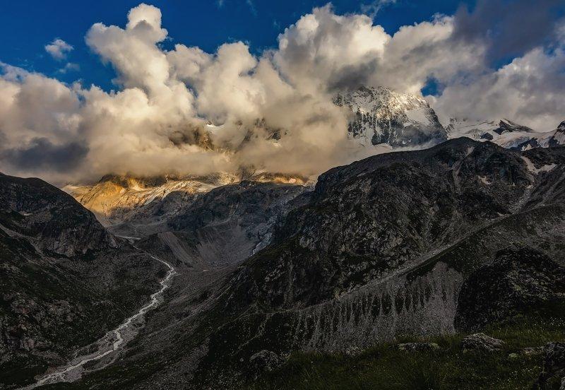 горы, альпинизм, кавказ, ледники Shine A Light 2...photo preview