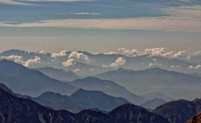 непал, горы, гималаи, облака Выше облаков...photo preview