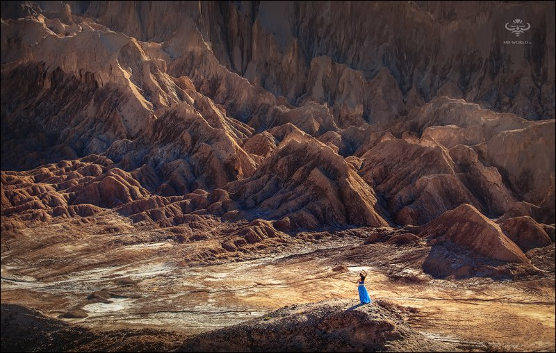 Чили, пустыня Атакама, пейзаж Инопланетный пейзаж пустыни Атакама photo preview