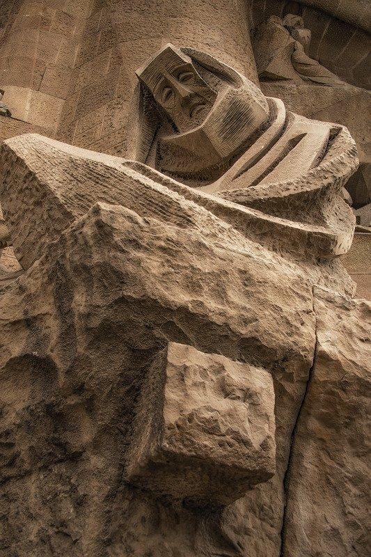 барселона, barcelona Страсти Христовы II (фрагмент фасада)photo preview