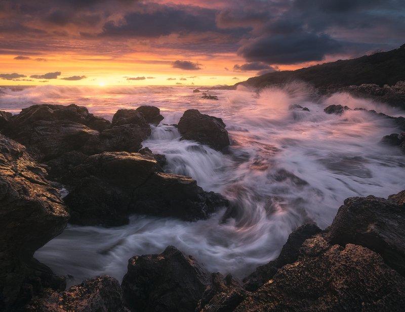 #landscape #seascape #nature #sea #sunset \