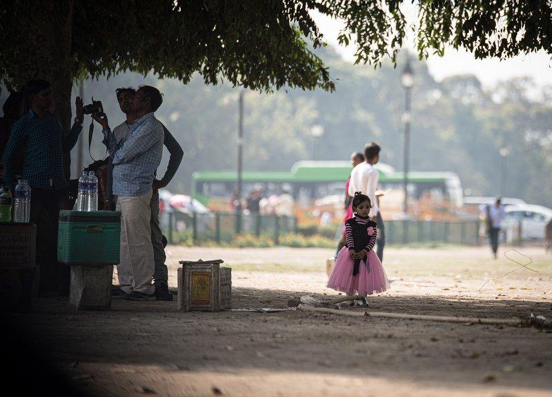 уличная сцена в Индииphoto preview