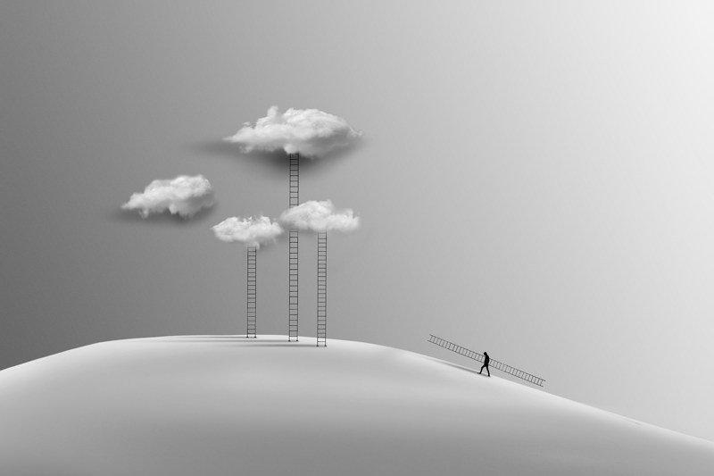 #35photo #surrealart#ps_fantasy#art_minimal #bnw_dream #photography#minimalism#conceptual#fineart #instagram#bnwminimalismmag#art_digital #ir_photographer#iran #photographize#blackandwhite#bnw_greatshots  #surreal#hadimalijani#art#fantastic_earth#bnw_fana Ladderphoto preview