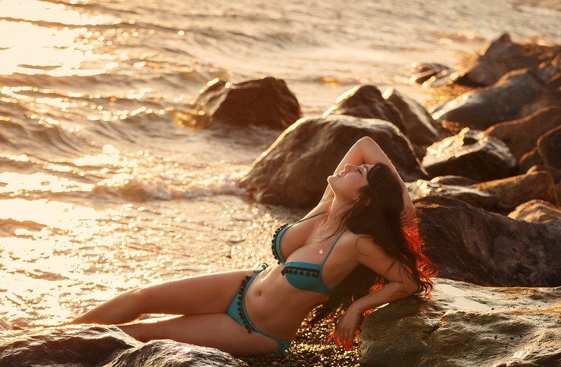 сочи, природа, девушка, море photo preview
