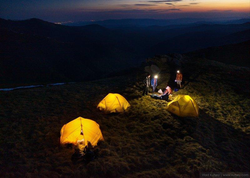 карпаты, гора, боржава Вечер в Карпатахphoto preview