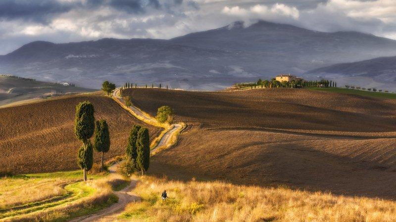 тоскана, пьенца, pienza , tuscany, italy Прогулки по Тосканеphoto preview