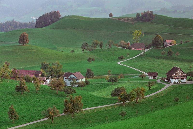 пейзаж, природа, путешествия, европа, жизнь Другая жизнь / Switzerlandphoto preview
