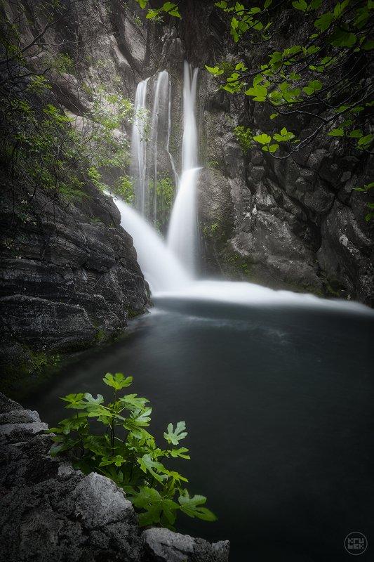 черногория, водопад, природа Водопад на Рыбнякеphoto preview