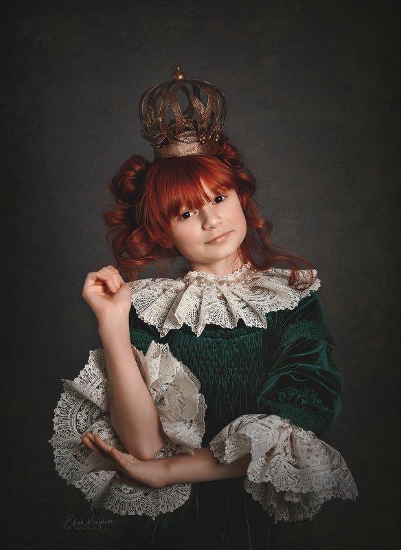девочка, портрет, принцесса, постановка, фото Сбежавшая принцессаphoto preview