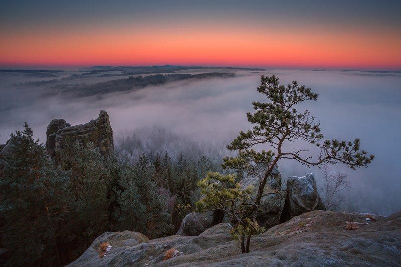 winter,mountains,canon,awakening Before The Morning Sun фото превью