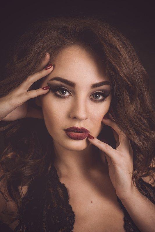 портрет, женский портрет, макияж Настяphoto preview