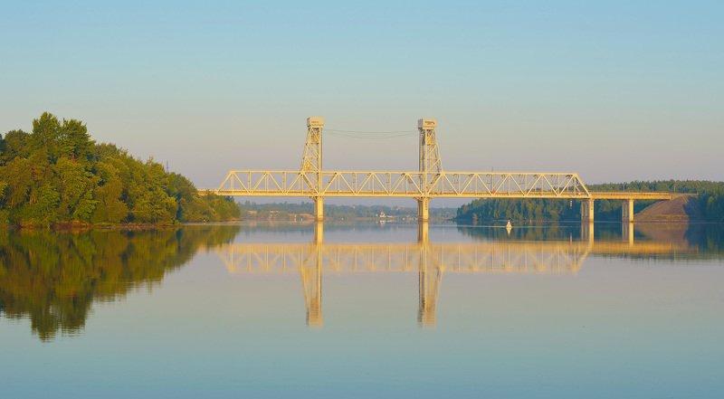 Утро Свирского мостаphoto preview