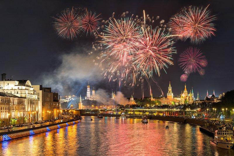 Салют в Москве photo preview