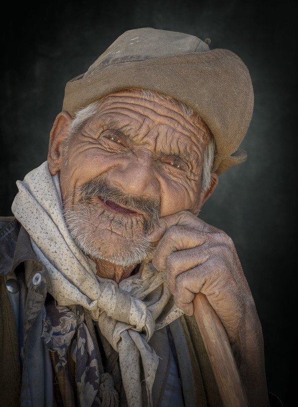 #portrait  #face #skin The old shepherdphoto preview