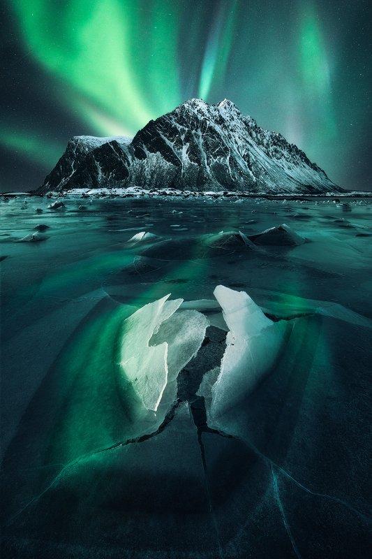 #aurora #landscape #auroraborealis #norway \