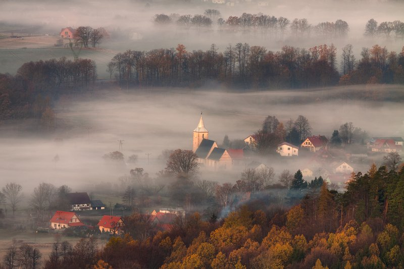autumn,mountains,canon,sunrise A Morning Dream... фото превью