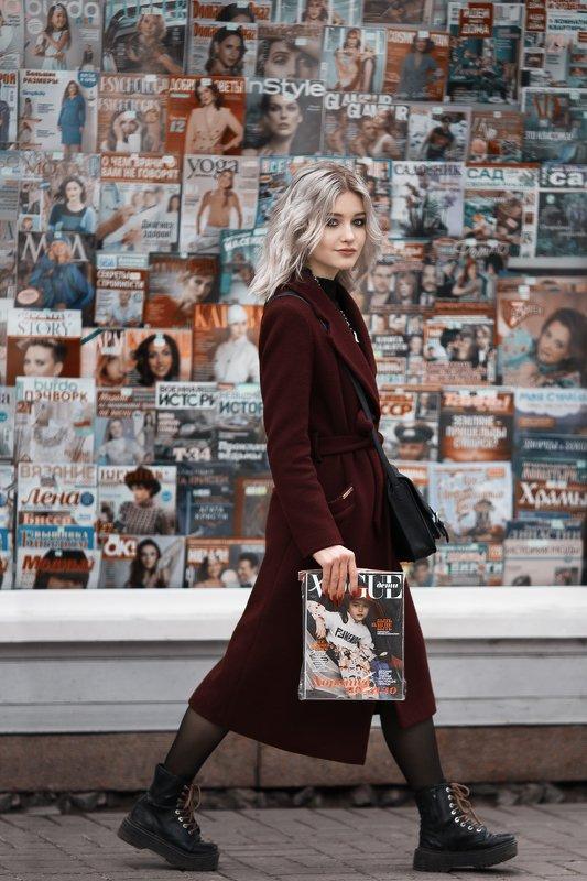 портрет, женский портрет, журнал Алисаphoto preview