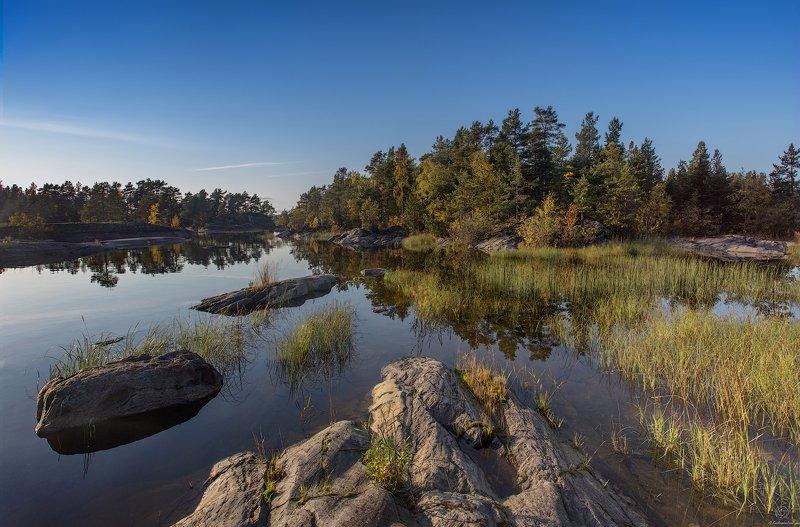 пейзаж, ладога,природа, путешествия, штиль Спокойствие внутри себя / Ladoga skerriesphoto preview