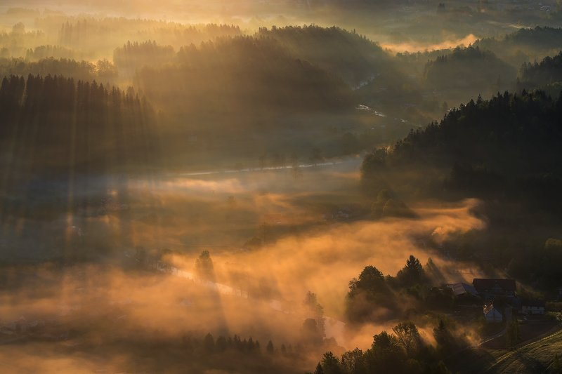 spring,mountains,canon,sunrise The Dance Between Darkness and Light ... фото превью