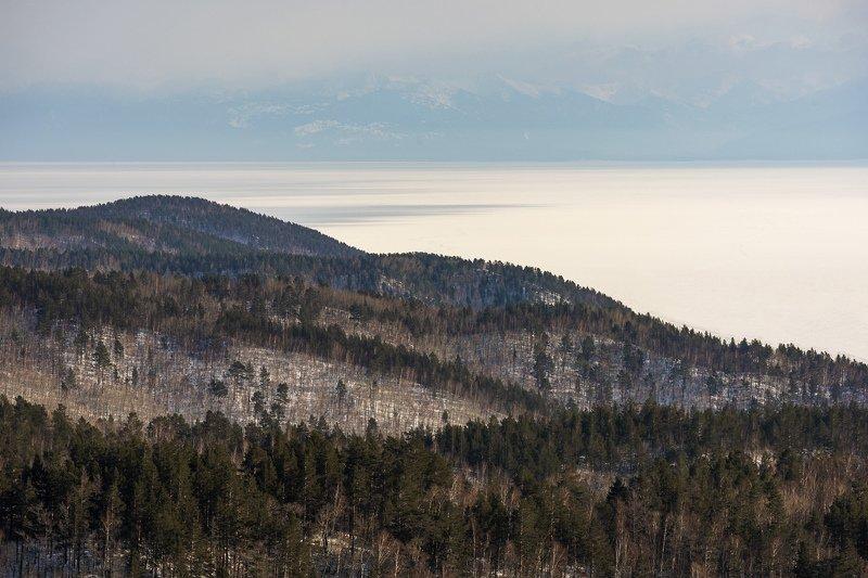 Байкал, сопки, весна На сопках Байкалаphoto preview