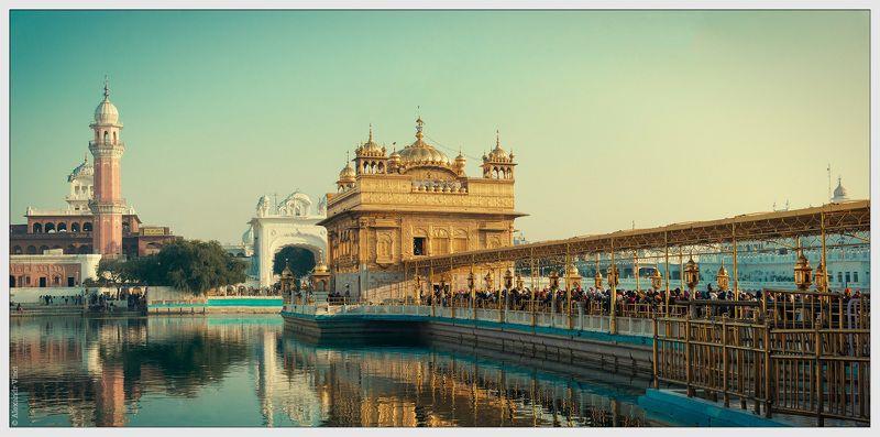золотой храм, сикхизм, сикх, амритсар, индия, пенджаб Золотой Храм Сикховphoto preview