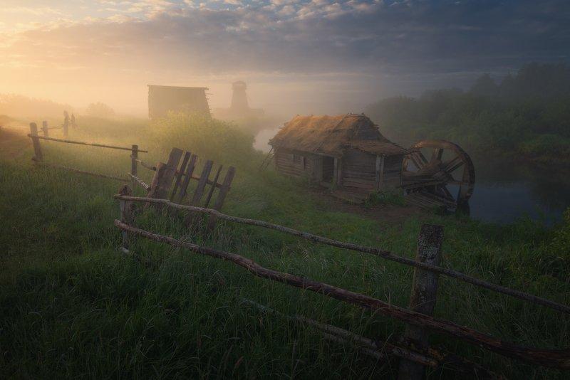 Утро у старых мельниц photo preview
