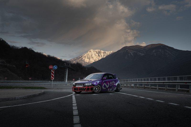 mountains, nikon, drift, car photography, drift carphoto preview