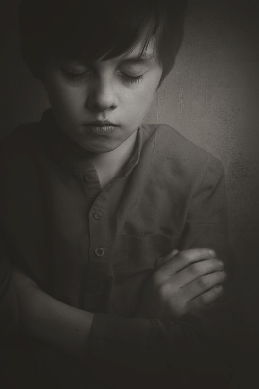 мальчик, настроение,  Меланхолияphoto preview