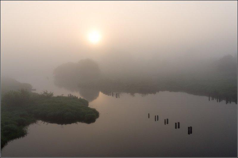 россия, ивановская обл, дунилово В плотном туманеphoto preview