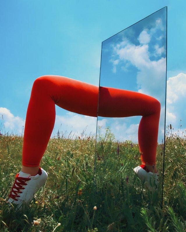 conceptual photography, conceptual, conceptualism, minimalism surreal legsphoto preview
