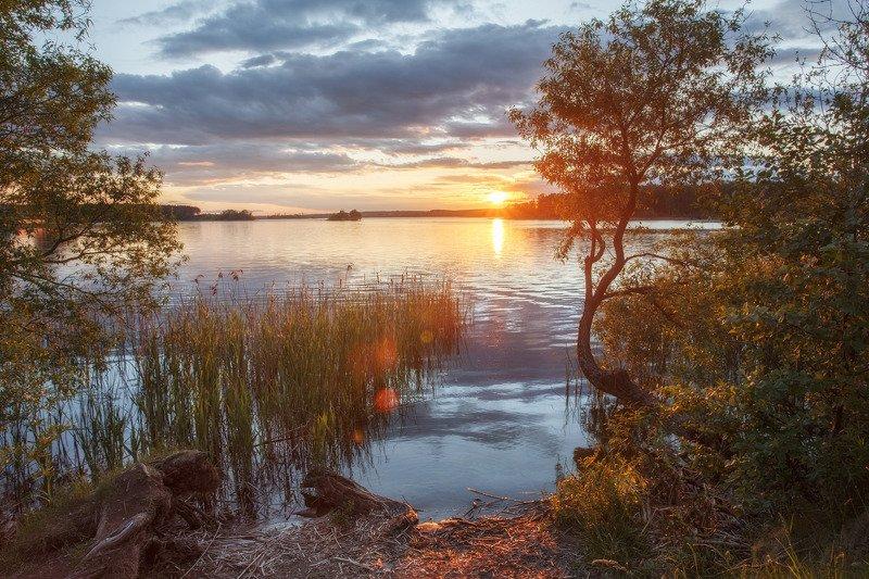 лето, минск, беларусь, вечер, закат, минское море Отдых от городской суетыphoto preview