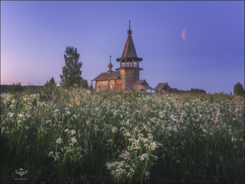 Россия, Карелия, пейзаж, фототуры, фото путешествия  Белые ночи в Карелии...photo preview