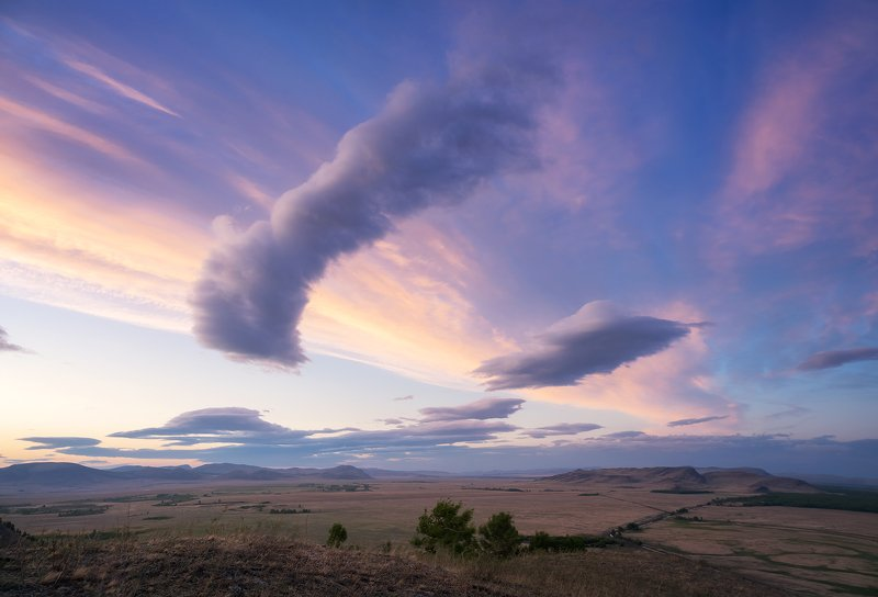 ...Небо над долиной Онло  (Сундуки) ....photo preview