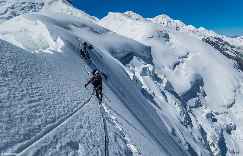 тянь-шань, горы, мраморная стена, карниз, альпинизм Ножphoto preview