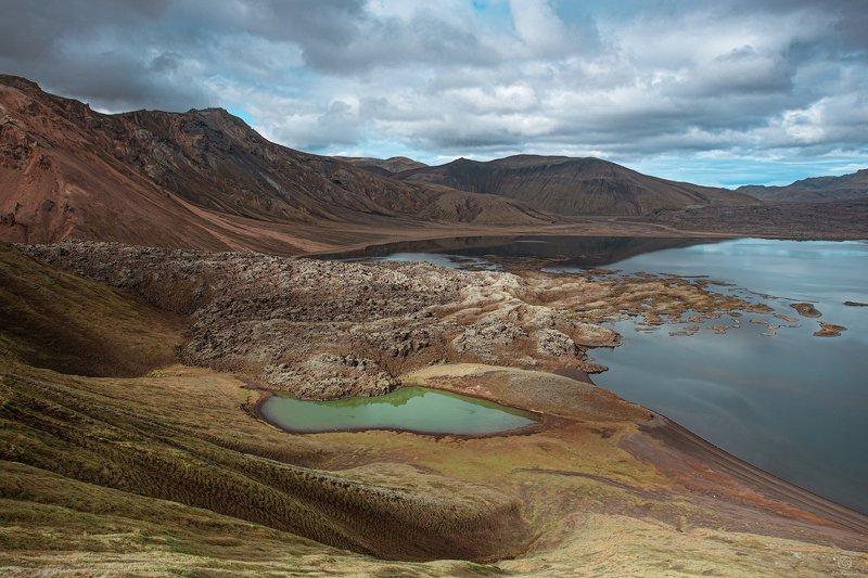 iceland,europe ,landscape, nature, travel Пейзаж в фокусе /  Icelandphoto preview