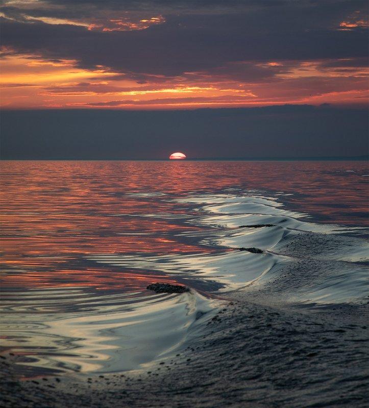 Закаты Финского залива.photo preview