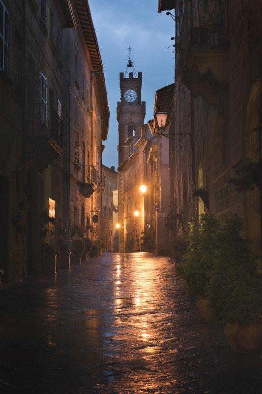 pienza, italy, night Pienzaphoto preview