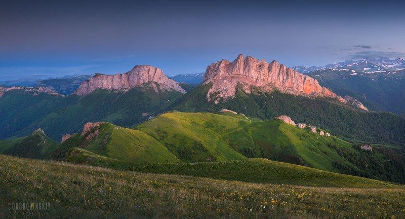 чертовы ворота, ачешбоки, горы, кавказ, адыгея Чертовы воротаphoto preview
