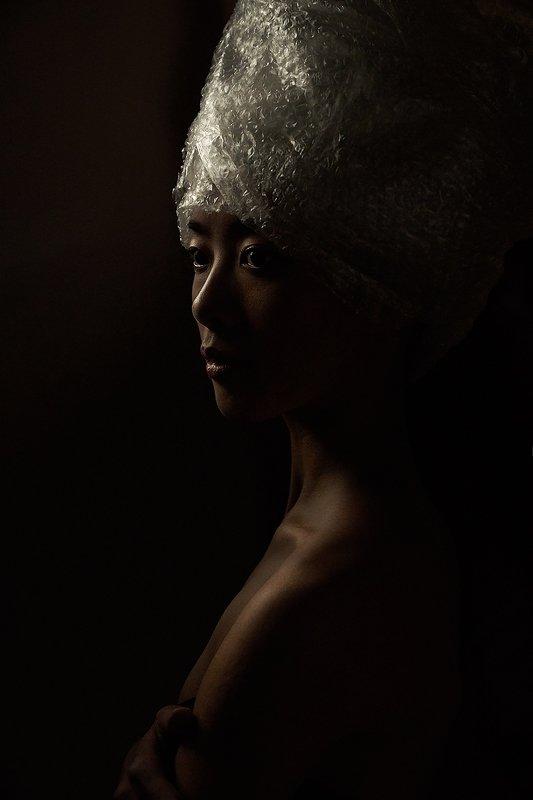 Нефертити, пленка, пластик, концепт, профиль, девушка, балерина  Мики photo preview
