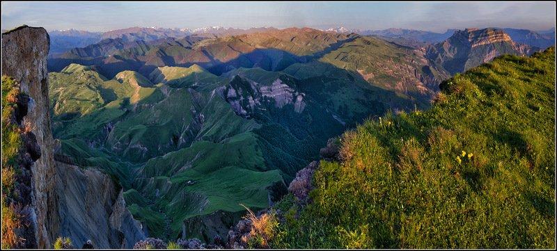 кавказ, дагестан, утро, панорама *  *  *photo preview