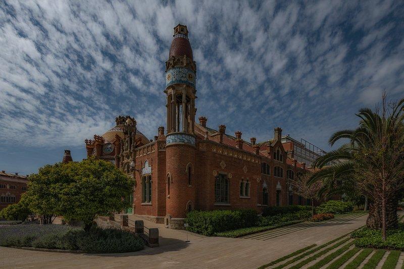 барселона, barcelona Hospital de la Santa Creu i Sant Pauphoto preview