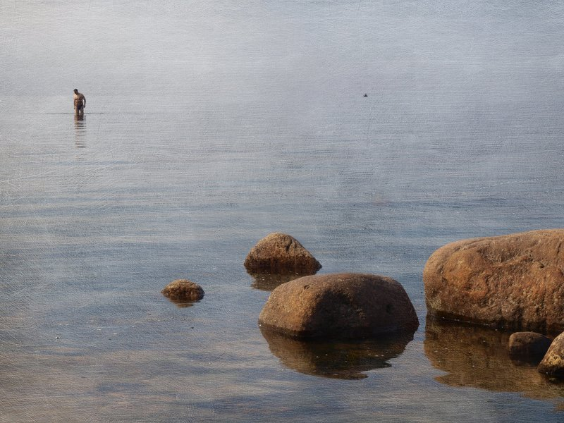 Терпеливый пловецphoto preview