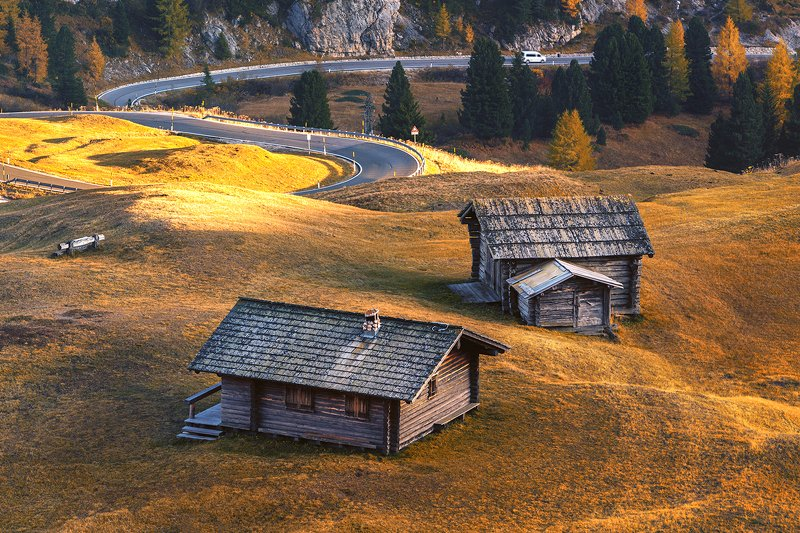 Доломиты, осеньphoto preview