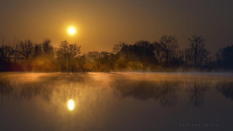 магия рассвета,магия, рассвет,озеро, пруд ,солнце, герпес, туман,zanfoar,czech republic,czechia,чехия,nikon d750 магия рассветаphoto preview