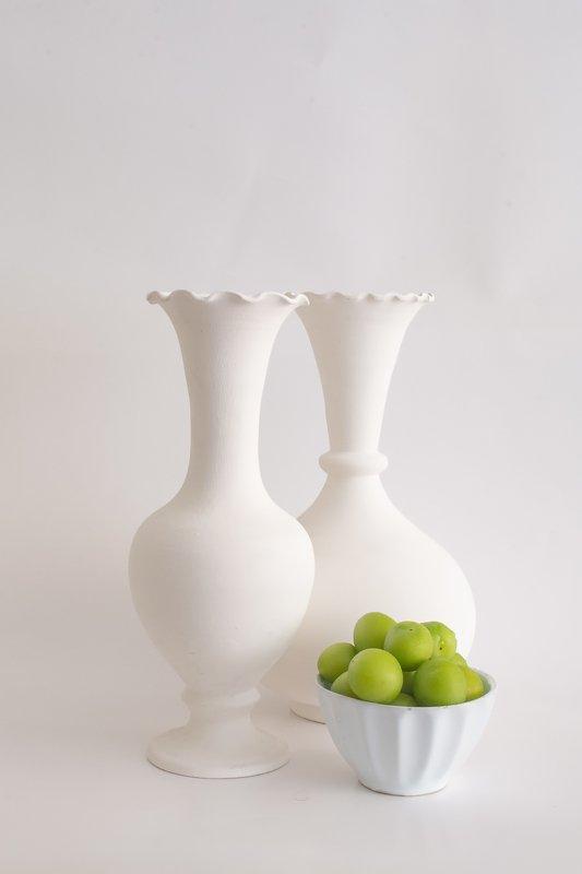 vase,still life,plum,apricot,white, light whitephoto preview