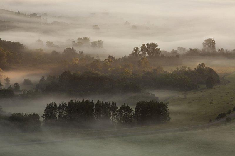 landscape, nature,fog, valley, Ural,morning,Russia,Россия, пейзаж, утро, туман, природа, рассвет, ЮжныйУрал, Morningphoto preview