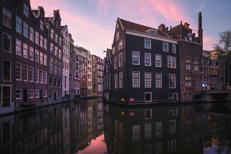 Ранее утро в Амстердаме.photo preview