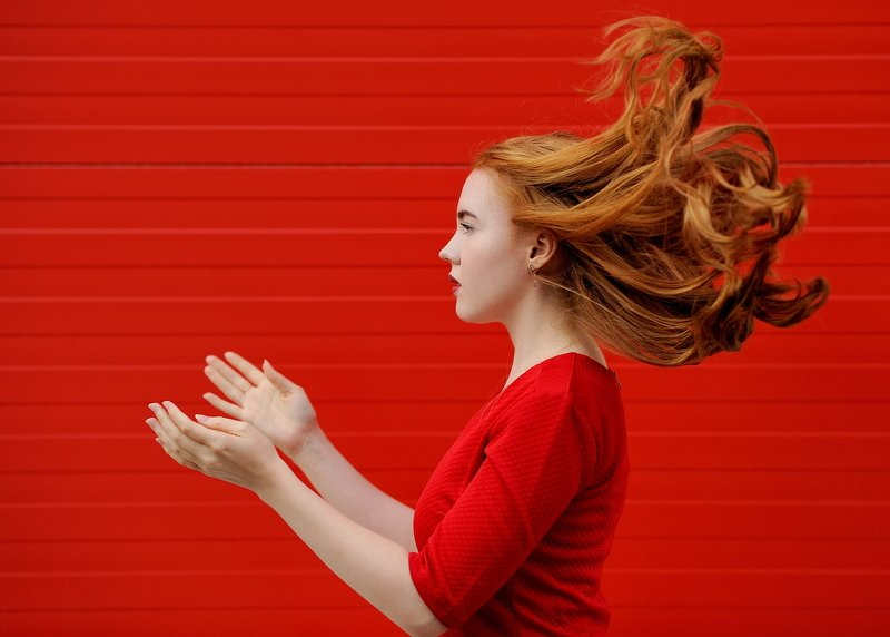 девушка,портрет,цвет REDphoto preview