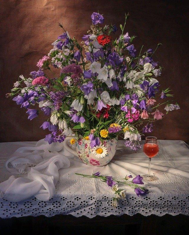 натюрморт,полевые цветы,лето Полевые цветы.photo preview