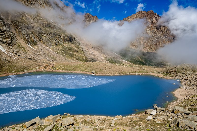 казахстан, тянь-шань, заилийский алатау, горы, ледники, озёра, морены, морена, ледниковое озеро, ледник, Ледники и озёра Северного Тянь-Шаня (часть 3)photo preview